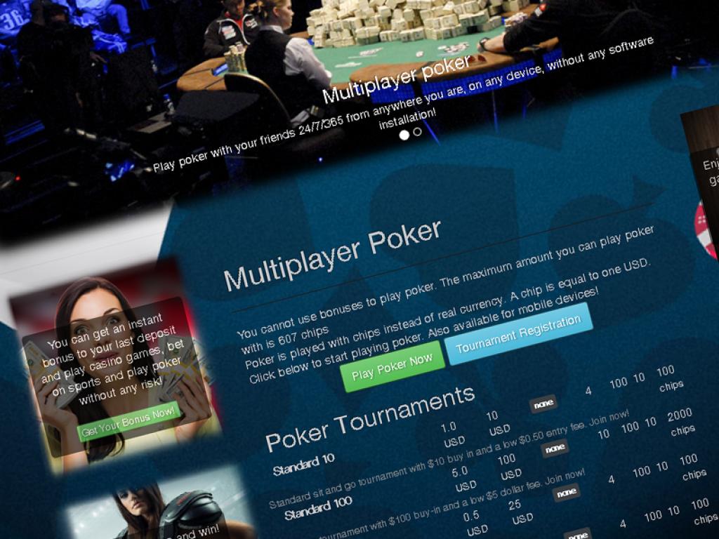 turnkey multiplayer poker