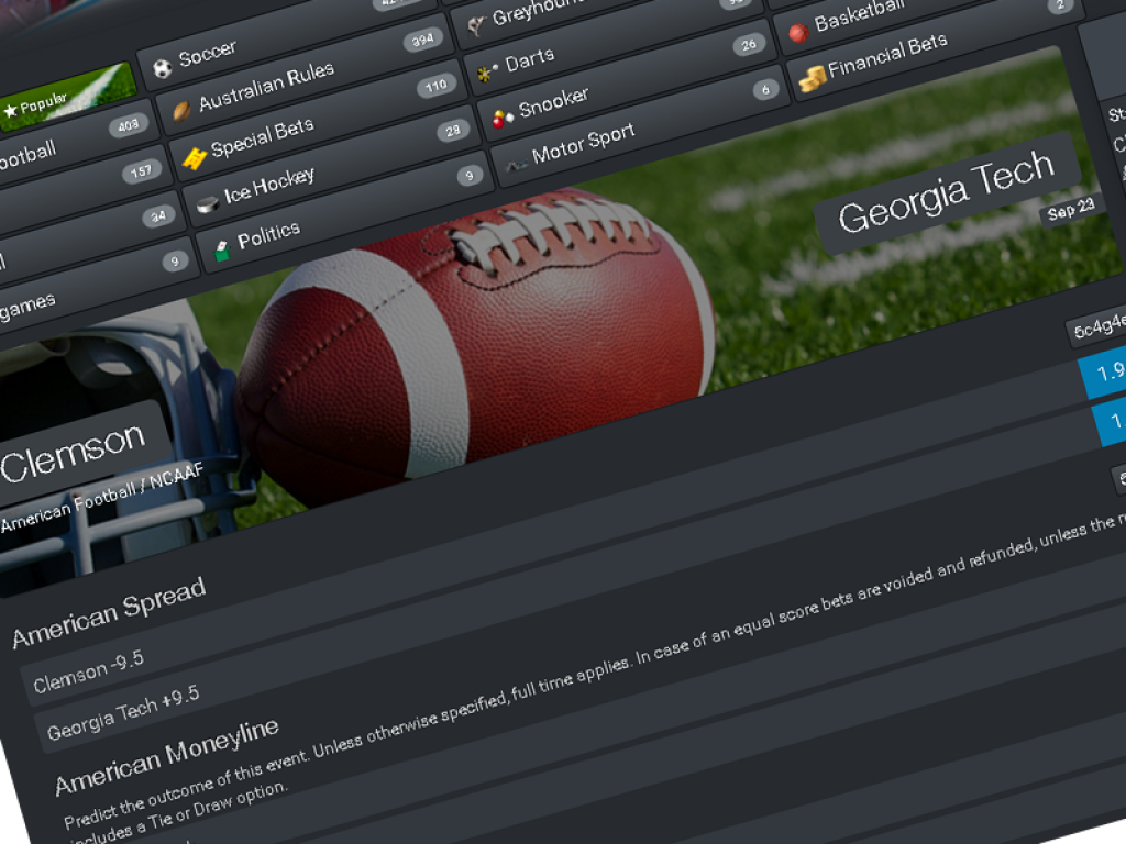 turnkey software with excellent coverage for US sports